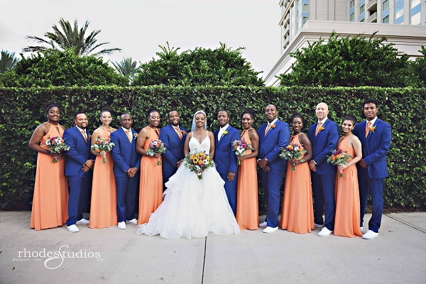 Orlando Wedding photographer and photography Rhodes Studios