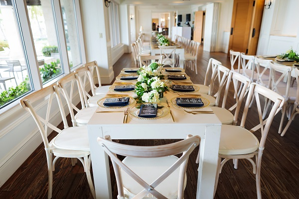 Ritz-Carlton Beach Club Wedding, A Chair Affair, Limelight Photography, French Country Chairs