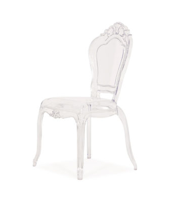 Royal Acrylic Chair - A Chair Affair Rentals