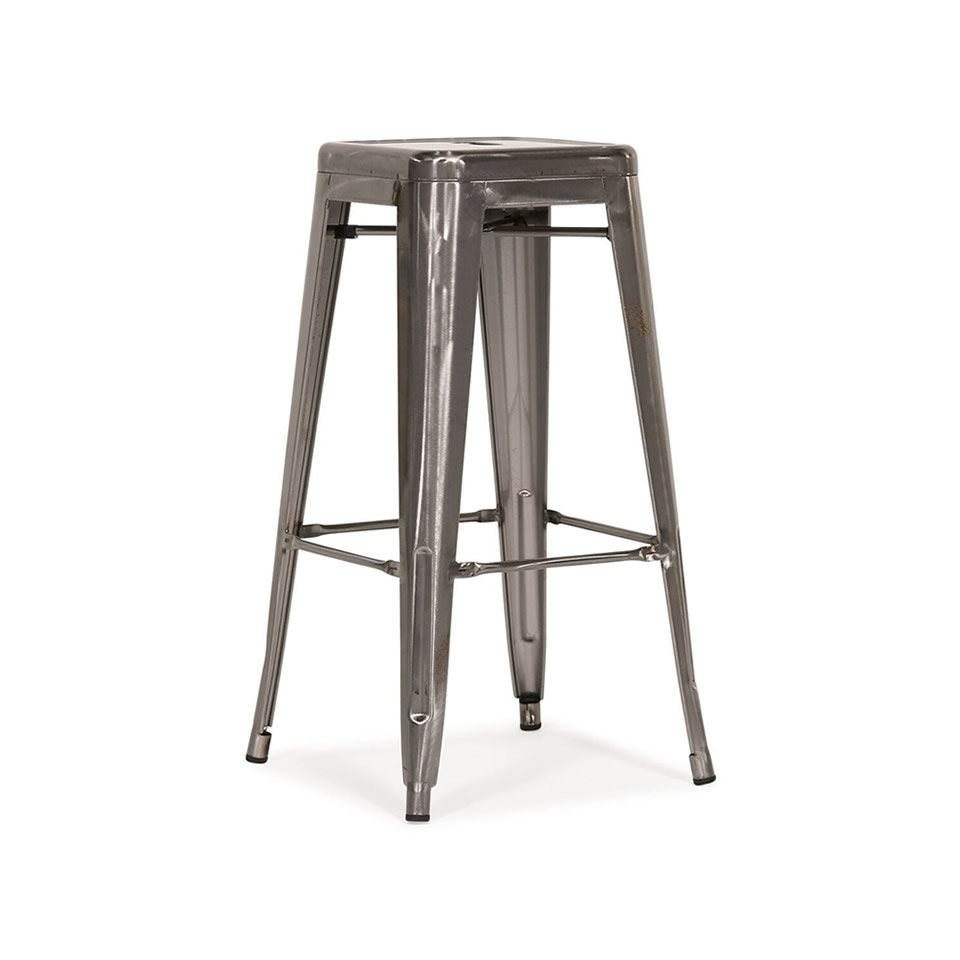 Tolix Barstool - A Chair Affair Rentals
