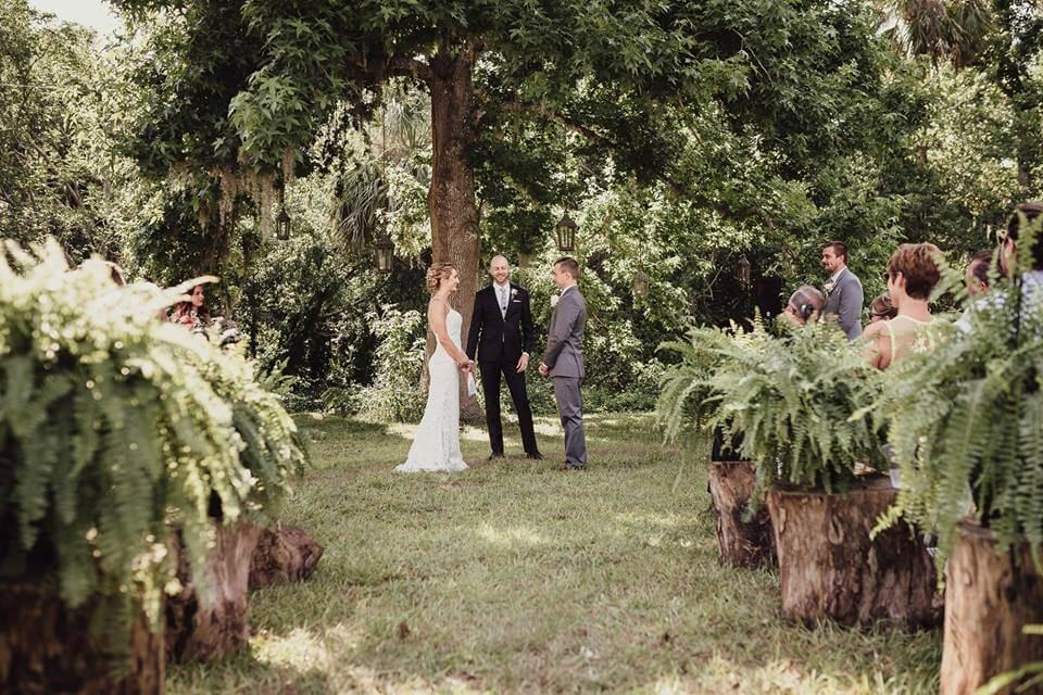 Wedding at the Mulberry New Smyrna Beach