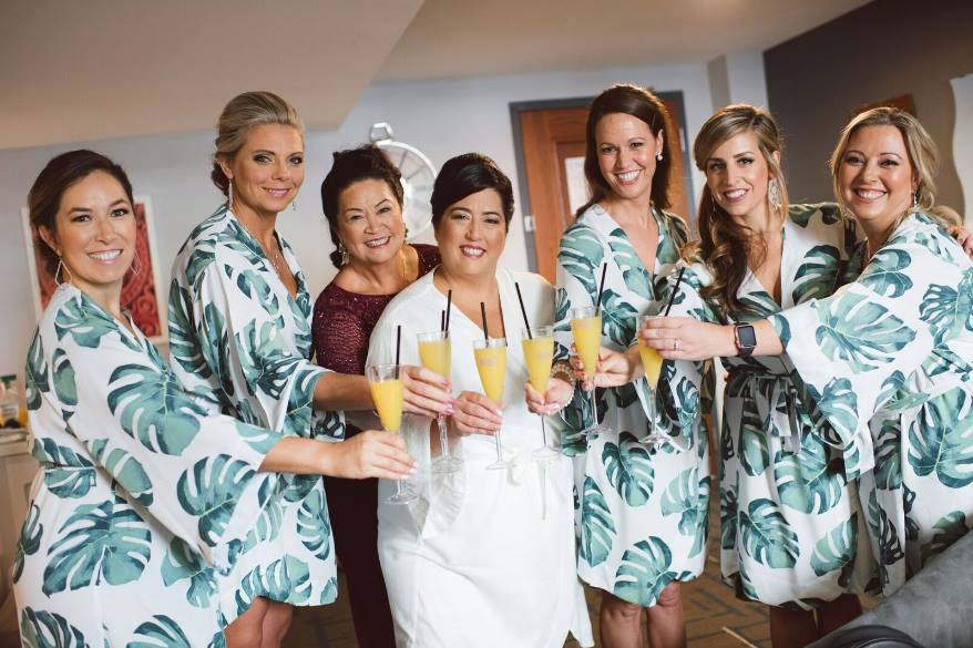 tropical chic Le Meridien Tampa wedding