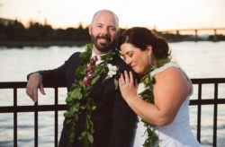 Tropical Chic Armature Works Tampa Wedding