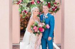 Vinoy Resort Boho Tropical Chic Wedding
