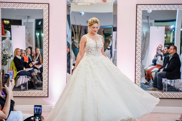 Bridal Gallery of Orlando, A Chair Affair, Ghost Chairs, Nuva Photography, anniversary, gown 9