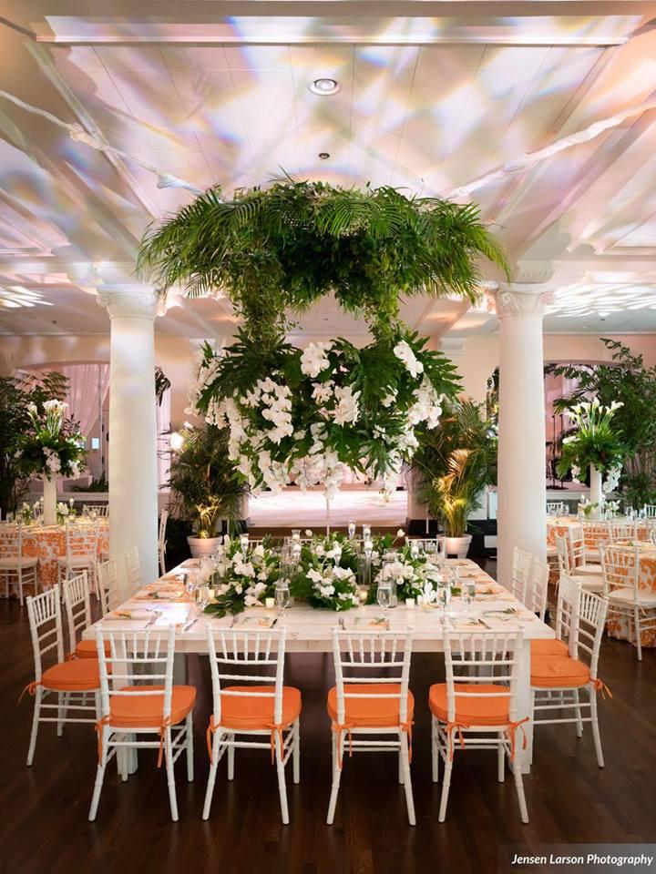 Colony House Florida-Themed Wedding