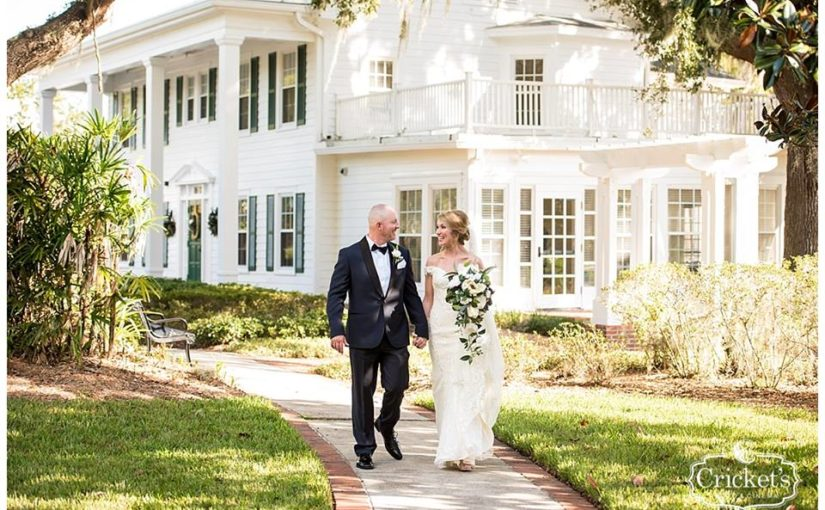 Classic Florida Cypress Grove Estate House Wedding