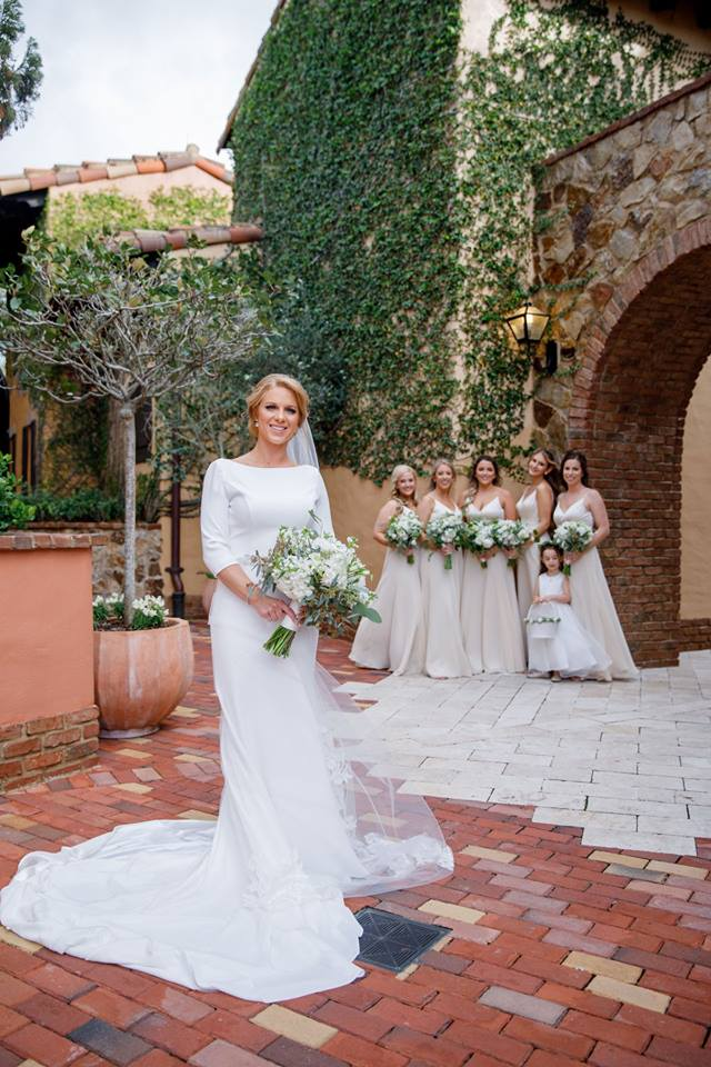 Elegant Cream Bella Collina Wedding