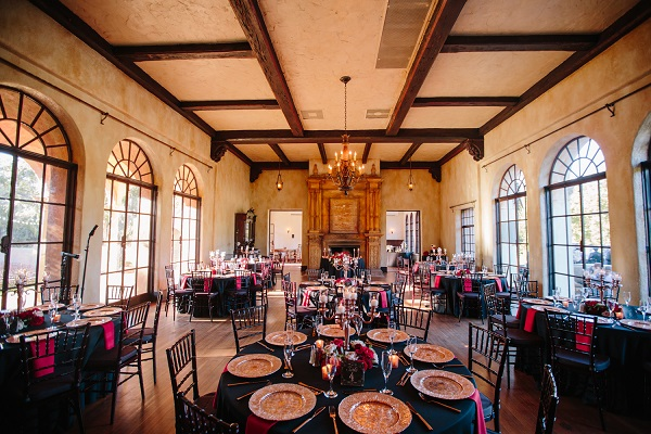 Howey Mansion, A Chair Affair, J. Lebron Photography, Rose Gold Charger, reception
