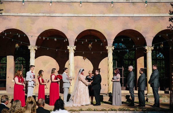 Howey Mansion, A Chair Affair, J. Lebron Photography, outdoor wedding ceemony