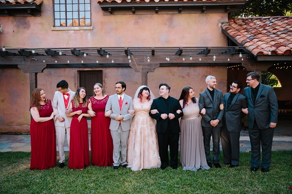 Howey Mansion, A Chair Affair,J. Lebron Photography, Rose Gold Chargers, bridal party