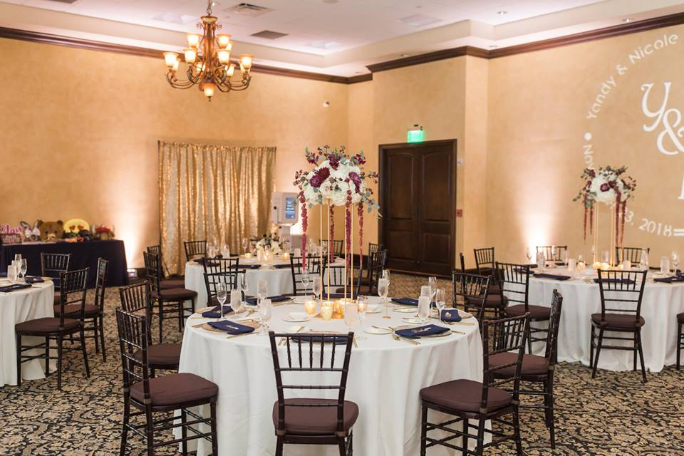 Gold Bella Collina Wedding A Chair Affair black chiavari chairs