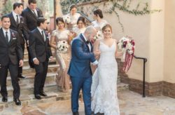 Bella Collina Wedding with Gold and Wine