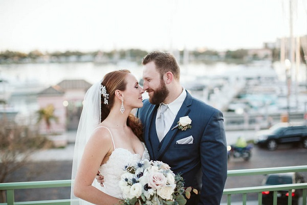Vinoy Renaissance Elegant Ocean Inspired Wedding