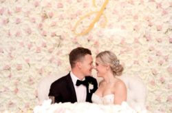 Alfond Inn Wedding with Glamour and Sparkle