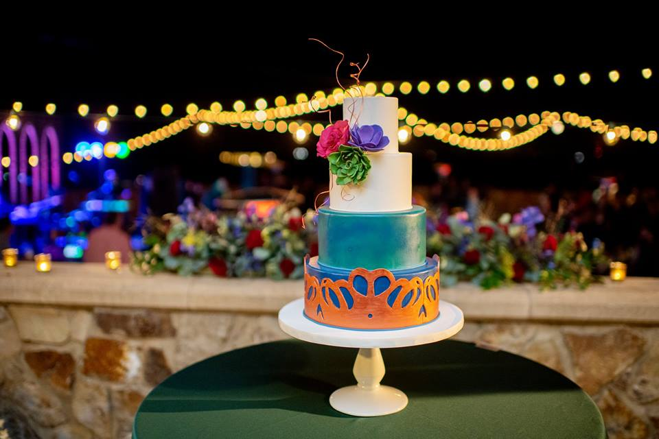 Bella Collina Bella Bliss 2019 Chair Affair cake