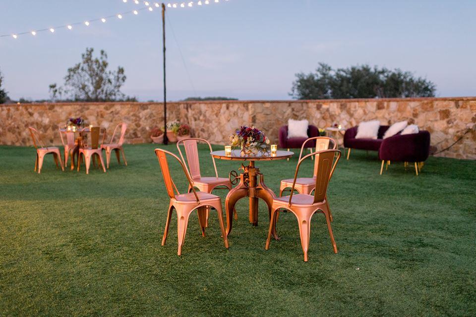 Bella Collina Bella Bliss 2019 Chair Affair tables lawn