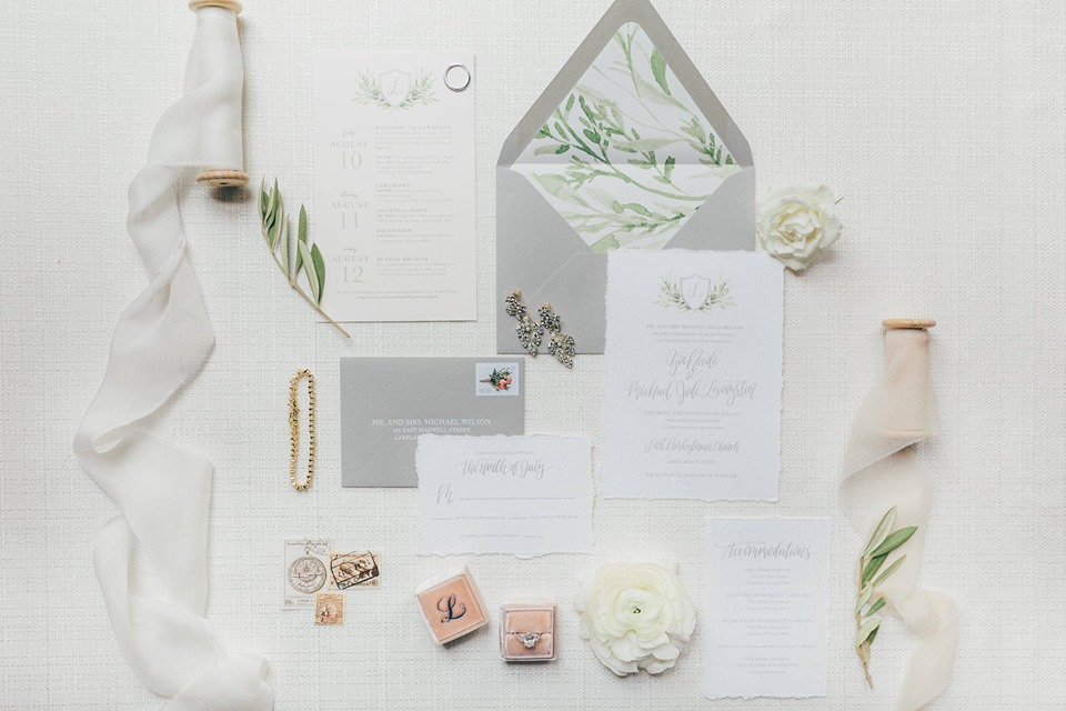 Haus 820 modern romantic wedding chair affair