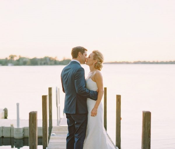 Winter Park Racquet Club Waterfront Wedding
