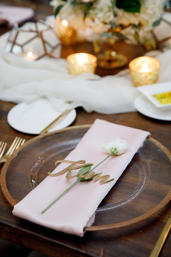 Bella Collina, A Chair Affair, blush and gold wedding