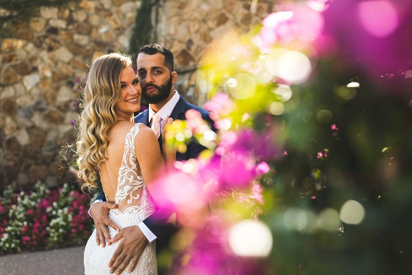 Bella Collina Blush and Gold Wedding