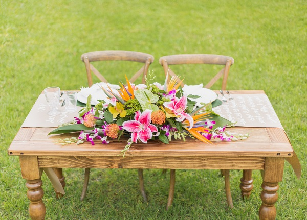 Harborside Chapel, Tropical Styled, A Chair Affair
