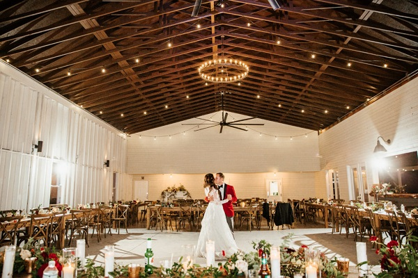 The Mulberry at New Smyrna Beach, Berry Holiday Wedding, A Chair Affair