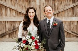The Mulberry Berry and Gold Holiday Wedding