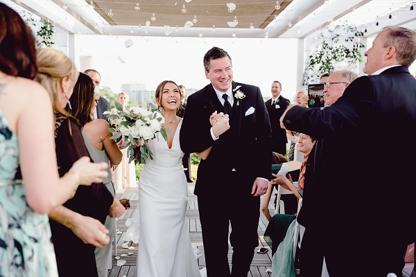 Armature Works Rooftop Wedding