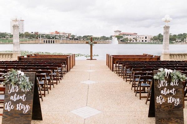 Lakeland Waterfront, Lake Mirror Amphitheater, A Chair Affair