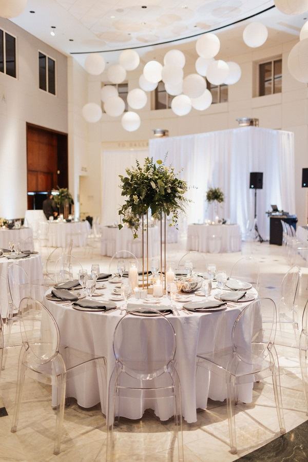 Orlando Museum of Art Sophisticated Wedding - A Chair Affair