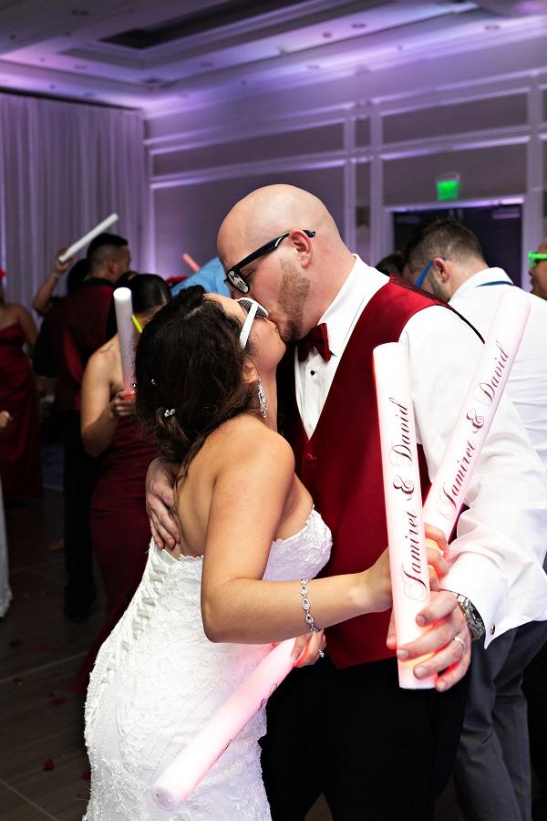 Marco Island, A Chair Affair, Romantic Red Beach Wedding, Emma Burdis Photo, last dance