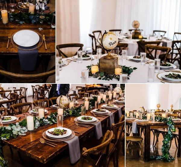 modern whimsical wedding The Rialto a chair affair reception II