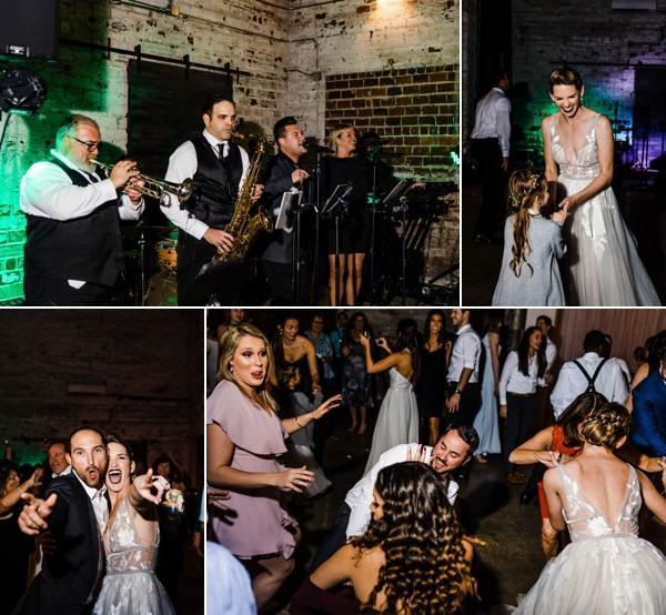 modern whimsical wedding The Rialto a chair affair reception