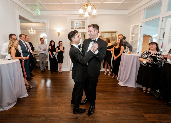 Capen House-LGBT Wedding- Intimate Wedding- First Dance