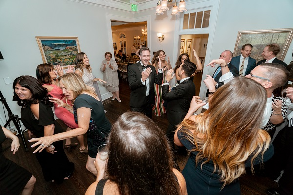 Capen House-LGBT Wedding- Intimate Wedding- Reception Dancing