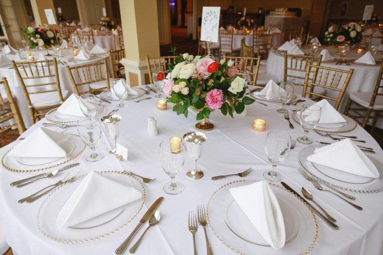 Oceanside Country Club Place Setting