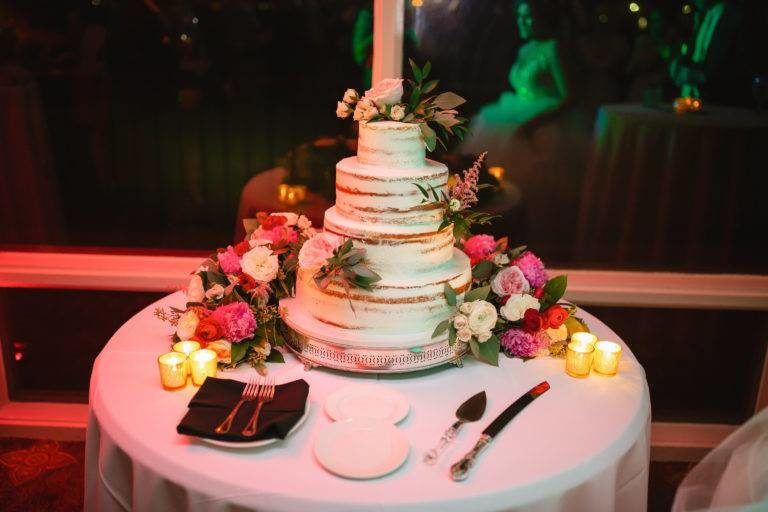 Oceanside Country Club Wedding Cake