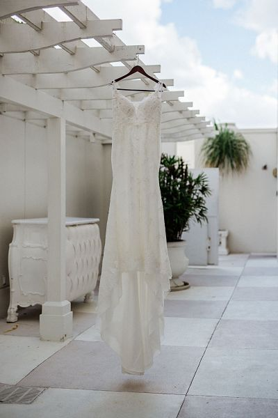 St. James Church bridal gown