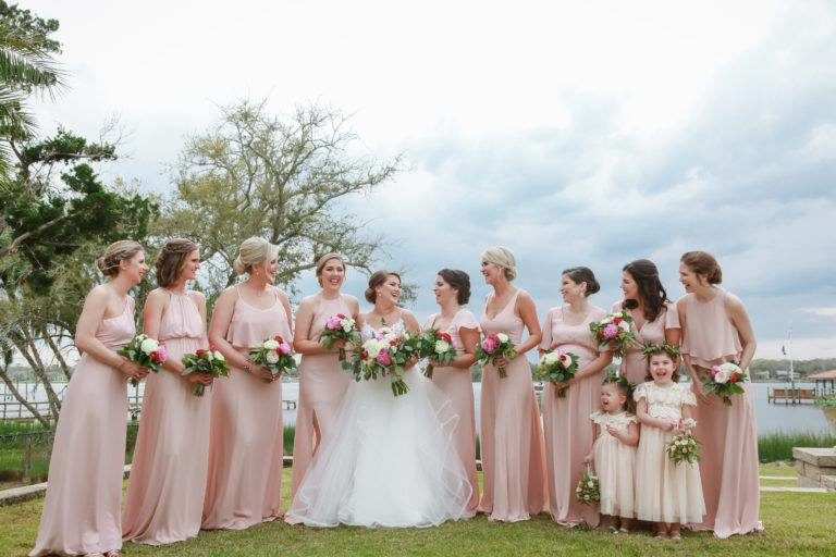St. James Episcopal Church Bridal Party
