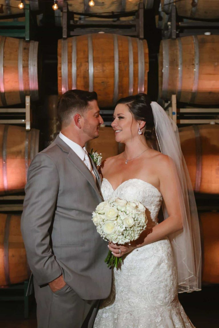 Quantum Leap Winery Bride and Groom