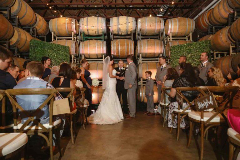 Quantum Leap Winery Ceremony Classic Wedding