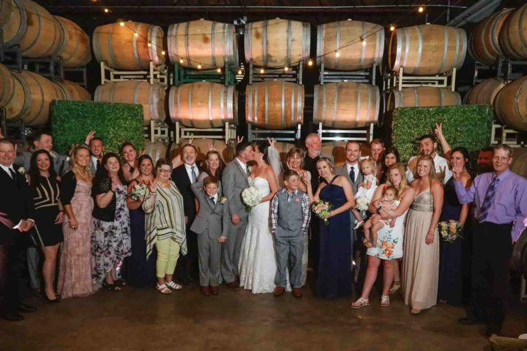 Quantum Leap Winery Family Picture
