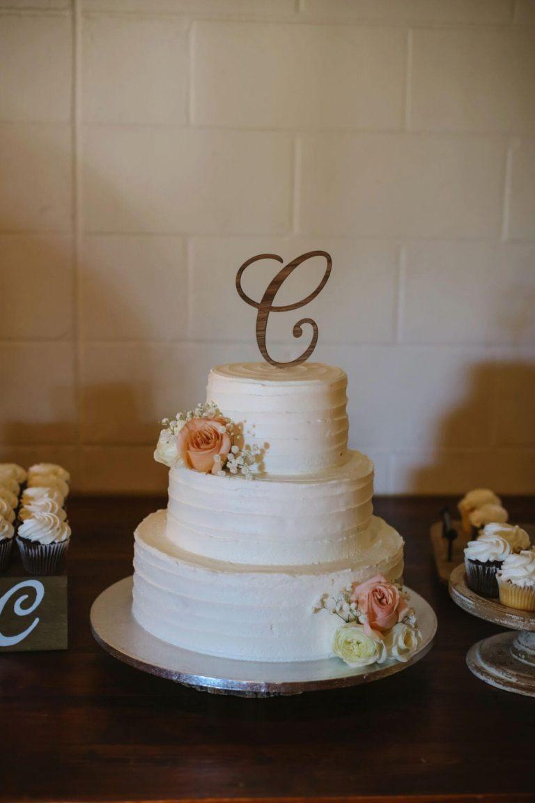 Quantum Leap Winery Wedding Cake