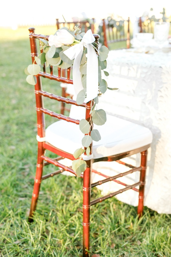 Southern Wedding, Rocking H Ranch, A Chair Affair