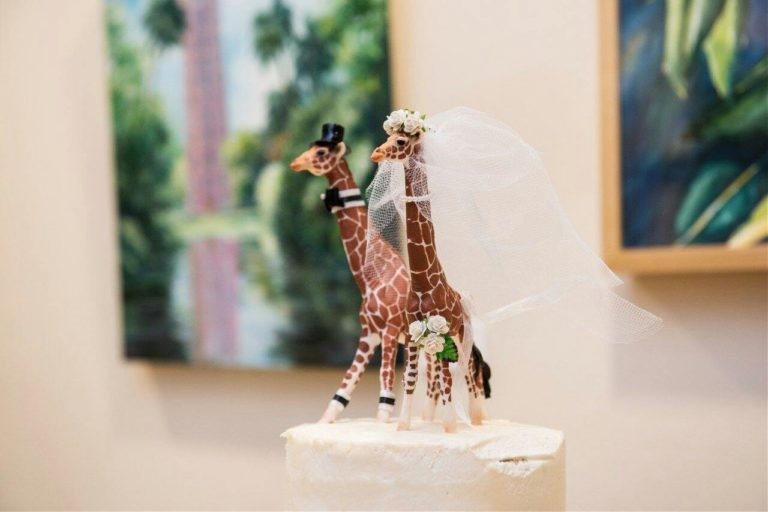 The Bok Towers Cake Topper