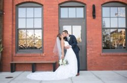 Sophisticated Steel Grey Armature Works Wedding