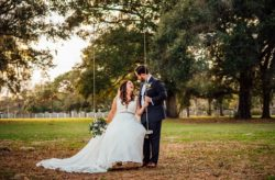 Romantic Outdoor Wedding and Reception
