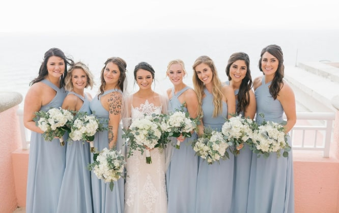 Hyatt Regency Clearwater Beach Bridal Party