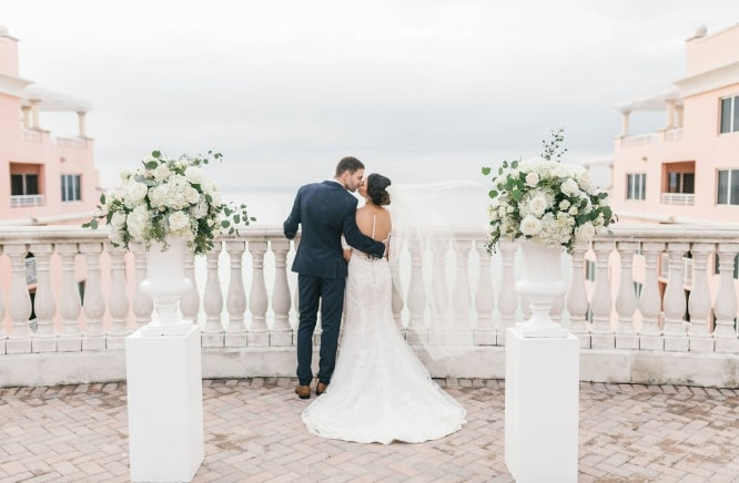 Hyatt Regency Clearwater Beach Boho Wedding